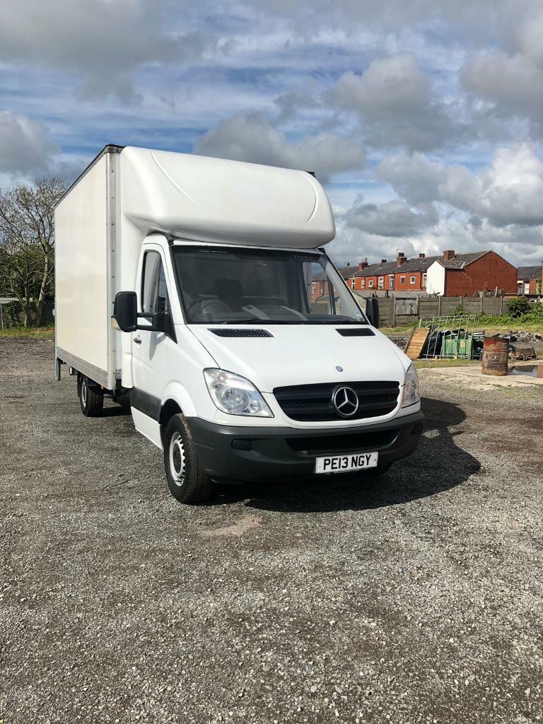 MERCEDES BENZ 2013 SPRINTER LUTON BOX VAN | in Salford, Manchester | Gumtree