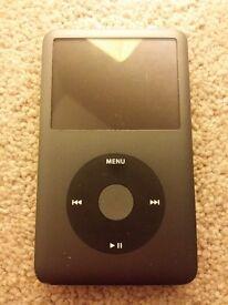iPod Classic 6th Generation 160gb black