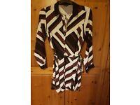 Womens river island shirt dress