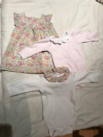 Jacadi Baby Girl Never Used size60cm/3M