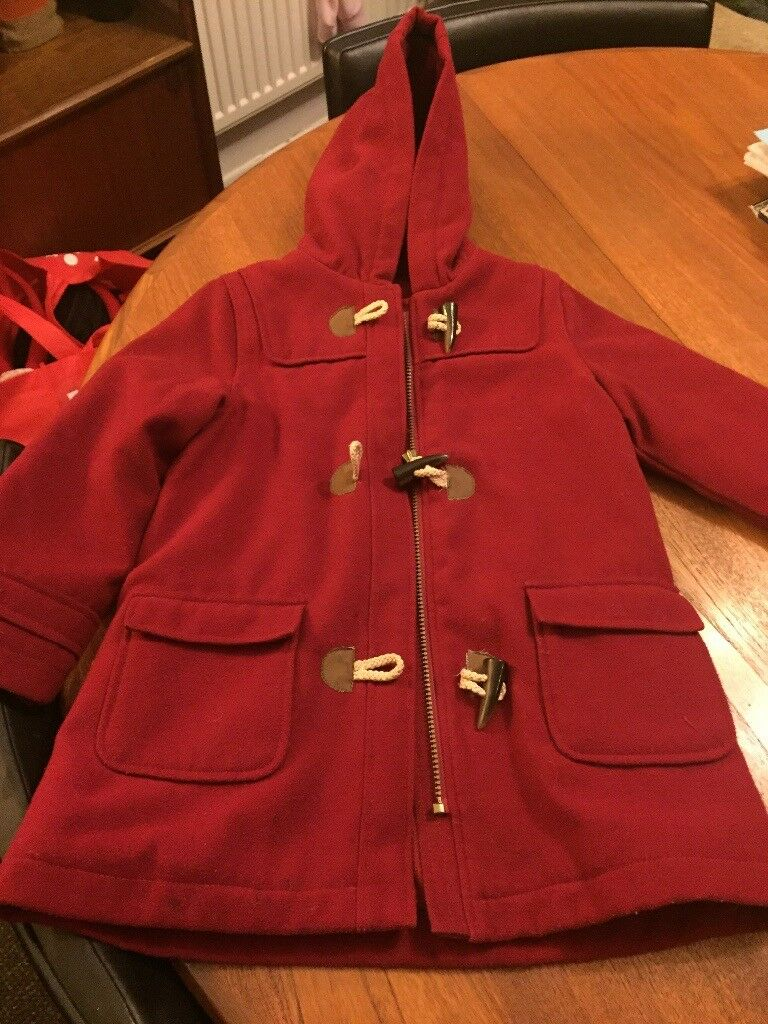 M&S girls duffle coat age 6/7yrs