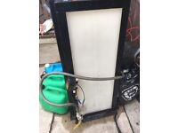 250l baffled water tank suitable for window cleaning patio car valet and detailing van
