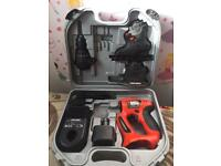 black and decker set drill sander and jigsaw