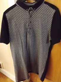 Boys Next Patterned Polo Shirt Age 16