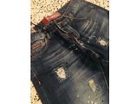Stone Blue Denim Jeans