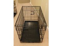 Dog Crate with Double Doors