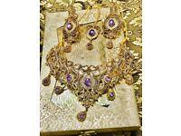 Indian bridal choker jewellery Set