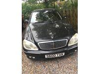 Mercedes S600 L 5786cc Petrol Automatic 4 door saloon 51 Plate 03/05/2001 Black