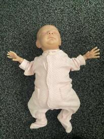 Girl reborn doll