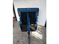 Bob Yak Duallie Sport Utility side by side Double Stroller/ double buggy