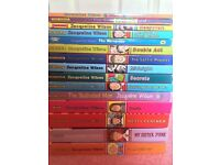 Various Books including Jacqueline Wilson, Dork Diaries and Cathy Cassidy