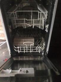 Used slimline integrated Logic dishwasher