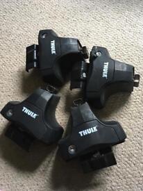 Thule footpack (4) for roof rack