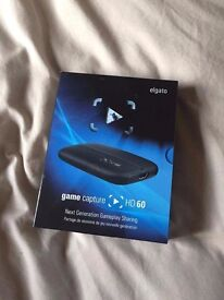Elgato game capture HD60 perfect condition, all cables and box £100