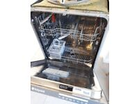 Hotpoint integrated dishwasher for Repair or Parts