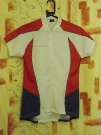 Ladies Moozes Jersey. Red, White & Grey – Size XL