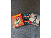 Girl Annual 1962, Eagle Sports Annual 1963 and Disneyland Annual 1973