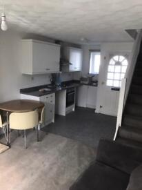 1 double bedroom house with hot tub city gardens, Grangetown