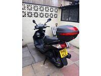 Yamaha cygnus 125 motorbike
