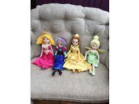 "Large 21"" Soft Plush Disney Dolls"