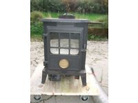 Coalbrookdale oil fired stove