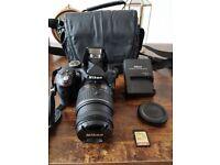 Nikon D3300 Like New Digital SLR