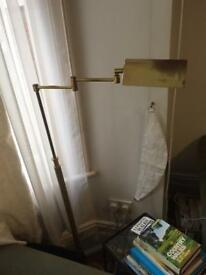 Cool vintage brass standing lamp
