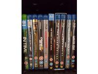 Blu Ray Movies Job Lot