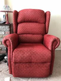 Ride and recline chairs (two available, will sell separately)