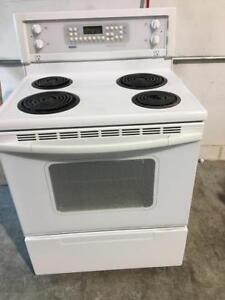 BH Appliances - Kenmore white Coil top stove - FREE DELIVERY+INSTALLATION