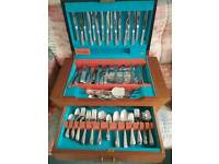 LARGE CANTEEN OF EPNS CUTLERY WITH OVER 60 STUNNING PIECES