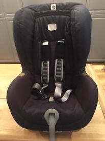 Britax isofix black thunder car seat