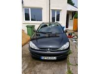 PEUGEOT 206 WITH BRAND NEW M.O.T