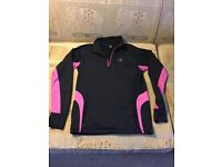 GYM/RUNNING/WALKING - FLEECE LINED WARM TOP BY KARRIMOR - SIZE 10