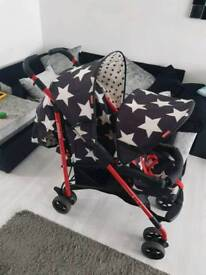 Cosatto double pram