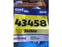 entry into EMF 10k sat 26th May
