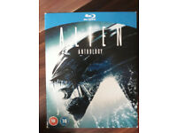 Alien Anthology Blu-ray Films 1-4 (1979) 4 Disc Set