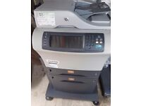 Hp 4345 mfp refurbished laser jet printer , low use machines