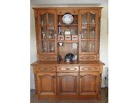 Kitchen Dresser in solid chestnut