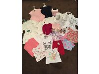 Brand new baby girls clothing some with tags and some without.
