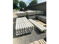 •New• Reinforced Concrete Fencing Posts - 8Ft / 9Ft