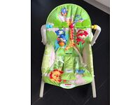 Fisher Price Rainforest Friends Infant-to-toddler Rocker Chair