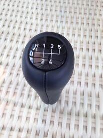 Genuine BMW black leather gear shift knob