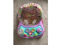 Colourful, baby walker, excellent condition, smoke/pet free house