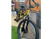 Golden bmx Bike