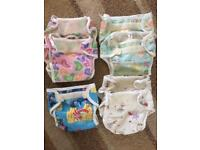 Reusable cloth nappies bundle