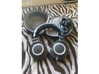 Audio Technica M50x Headphones with case