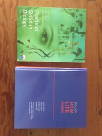 Biology text books for University
