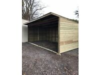 Field shelters *made to measure*