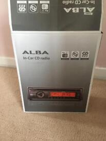 Alba car radio CD player